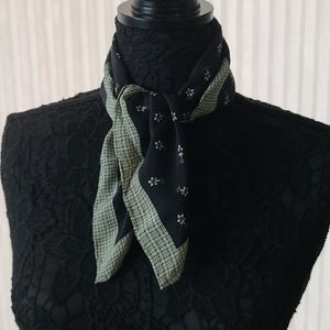 Simple Flowers Square Scarf